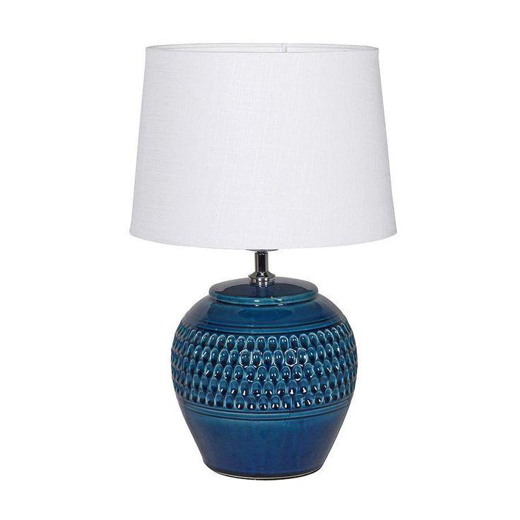 Dorset Blue Table Lamp