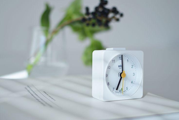 BRAUN/alarm clock