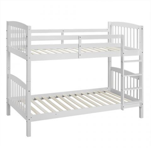 Becket White Wooden Bunk Bed  up to 60  OFF RRP  Next Day. Best 25  White wooden bunk beds ideas on Pinterest   Kids pallet