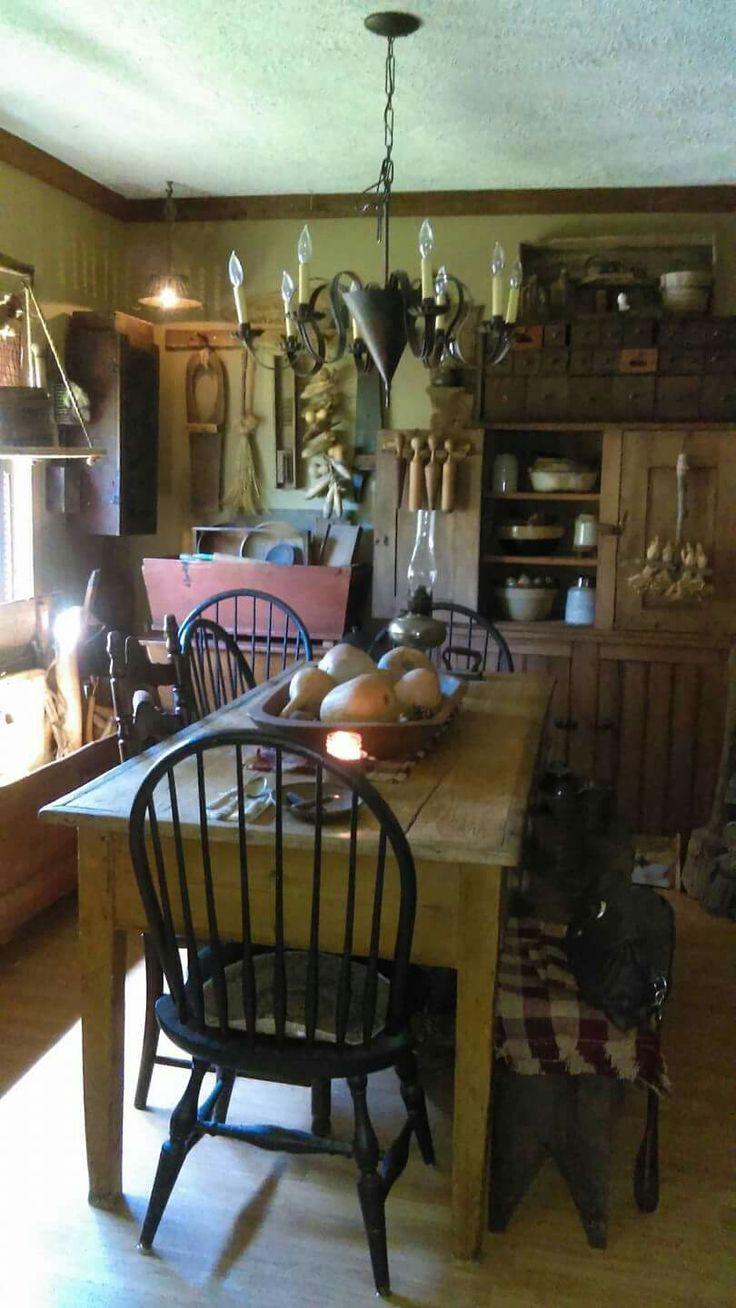 Best 25+ Primitive dining rooms ideas on Pinterest