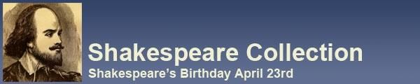 Shakespeare's Birthday is April 23. Here's information on Shakespeare the man and also about his literature. This isn't just something to introduce to kids in high school, younger students should know who he is. Here are some interactive lesson plans and videos including various learning styles.