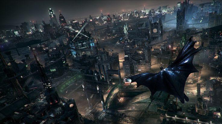 Batman Arkham Knight BatMobile Wallpaper Games Pinterest