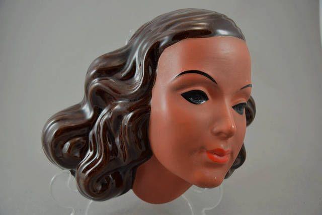 Maschera dell'annata parete / parete art / oro Scheider /