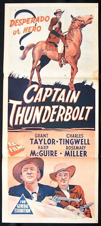 Captain Thunderbolt movie!