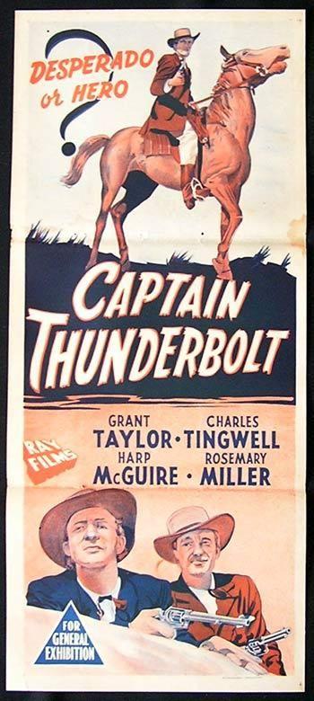 Captain Thunderbolt movie!