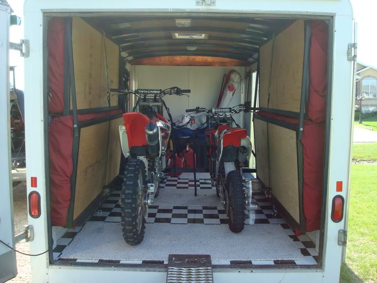 25 Best Ideas About Enclosed Motorcycle Trailer On