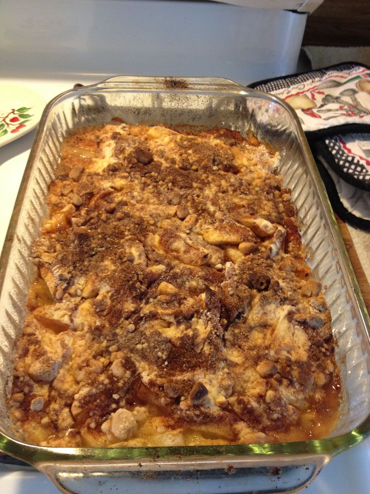 Apple Crisp Recipe With Oatmeal And Yellow Cake Mix
