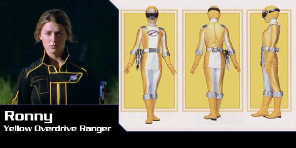 Power Rangers Overdrive yellow | ... Robinson (Yellow Overdrive Ranger) - Power Rangers Operation Overdrive