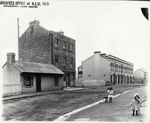 The family pub  Ship & Mermaid Hotel, The Rocks by State Records NSW, via Flickr