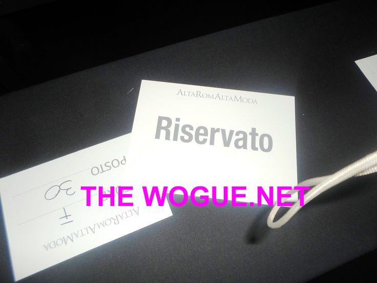 THE WOGUE NET HAUTE COUTURE ALTA MODA ROMA 2014 LUGLIO  LE SFILATE