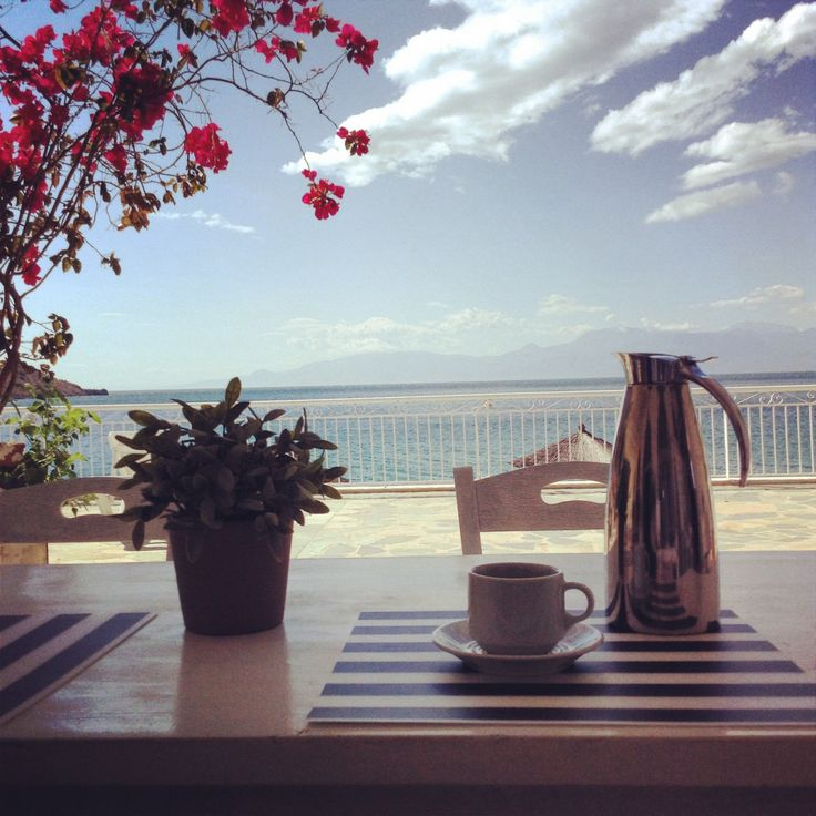 Coffee a view