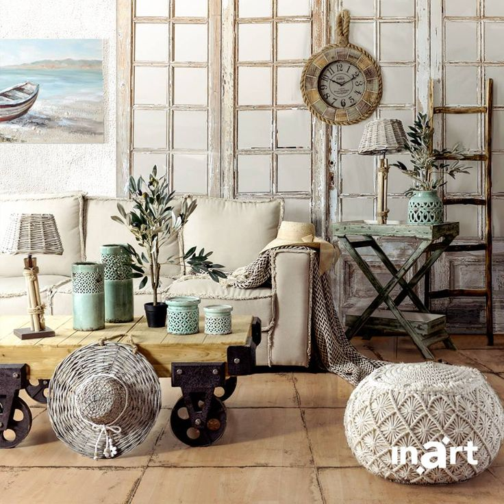 Summery surroundings… at home? Possible with our #inart collection! Explore now at inart.com