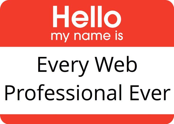 Every Single Web Portfolio Site Ever