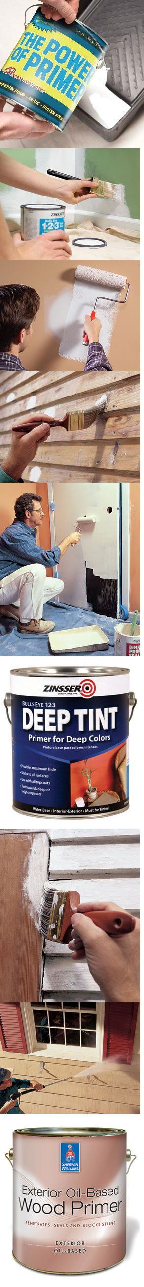 Three painting pros recommend the best primers to solve common painting problems, including stains on walls, moisture damage, old painted surfaces, odors, color changes and new exterior wood. See what 11 problems you can solve with primer at http://www.familyhandyman.com/DIY-Projects/Painting/Painting-Techniques/painting-how-to-choose-and-use-primers/View-All