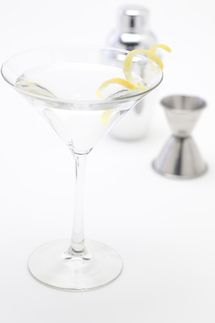 Vodka Martini with a Twist