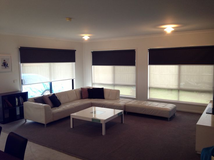 Dual Roller Blinds Our custom-made roller blinds are all manufactured to suit the internal spaces in your home.  Call for all enquires on (03)9357 6727