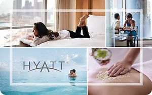 Buy $200 Hyatt Hotels Gift Card For Only $175!!  Mail Delivery