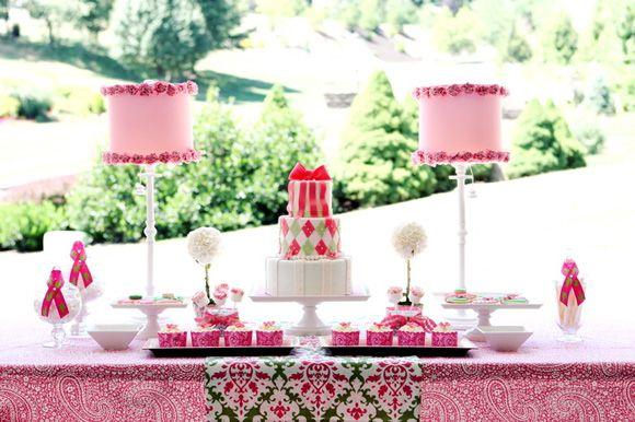 Argyle cake!!!  :o)