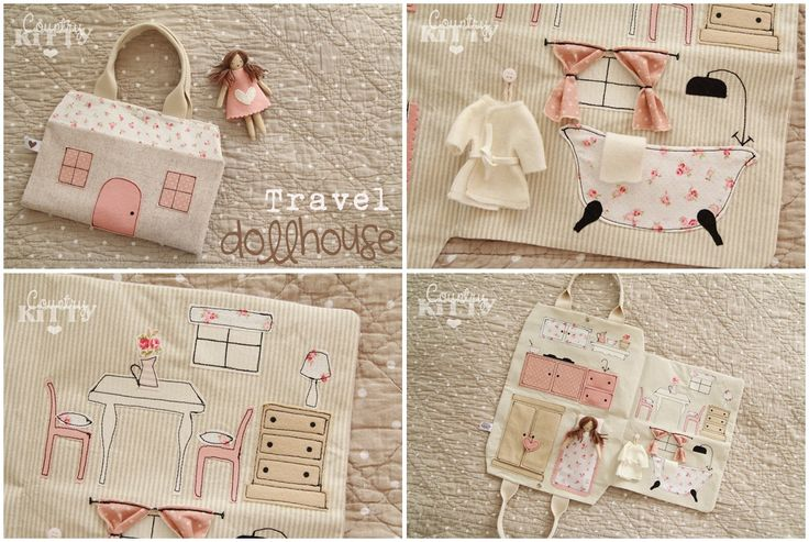 Travel Doll House by Federica - Countrykitty