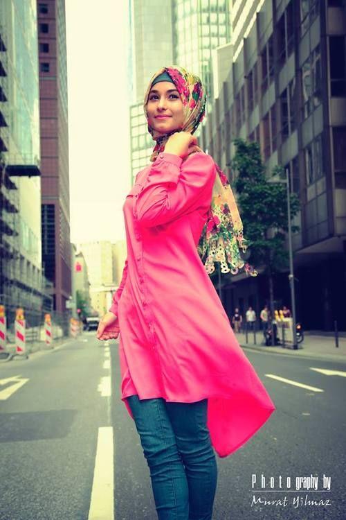 the simplicity of hijab ^^