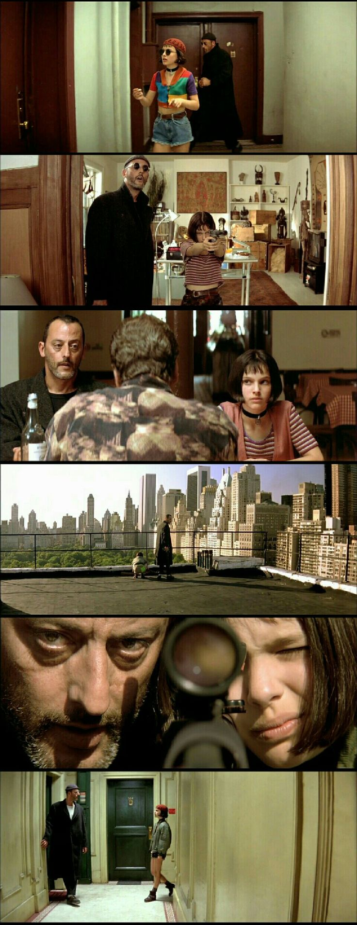 Léon:The Professional(1994). Directed by Luc Besson.
