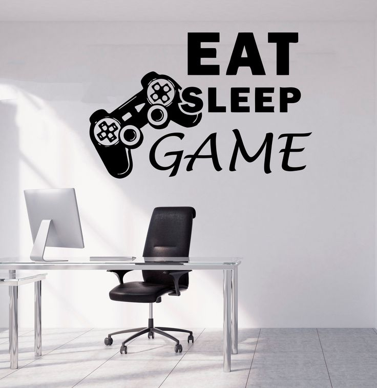 Gamer Wall Decal Gamer Decals Controller Decals Personalized Gamer Room 3069