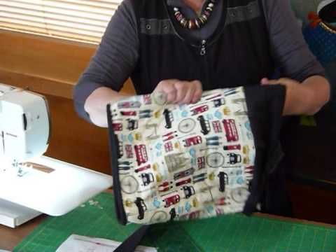 How to make That Shoulder Bag Part 3 – Quilting Tips & Techniques 150C