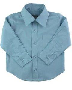 Modelo clássico de camisa de menino com colarinho e punho. Segue moldes do número 2 ao 12.