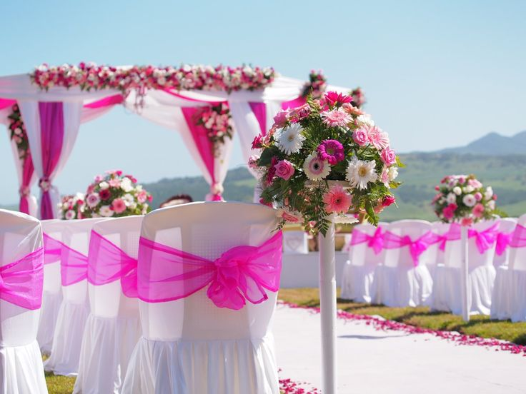 The 17 best wedding mauritius le chateau de bel ombre by mariages a lile maurice wedding in mauritius indian mandap pink inspiration junglespirit Images