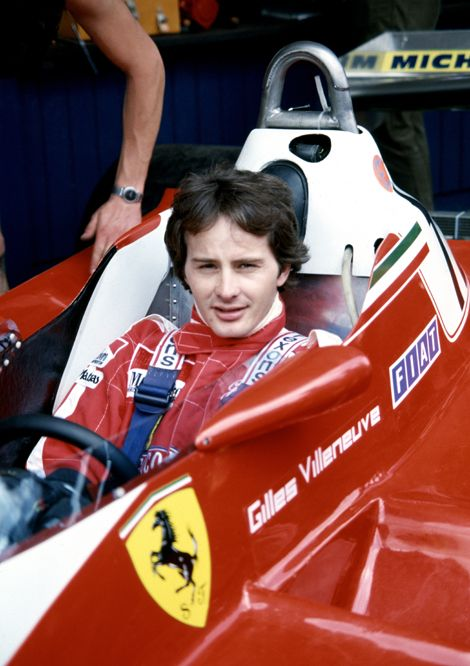 Gilles Villeneuve dans la Ferrari 312 T3 de 1978. (Photo: Ferrari)