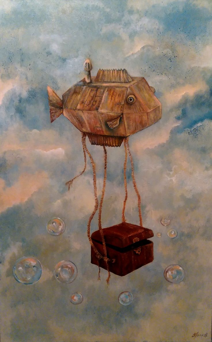 """Argonaut"" oil on canvas Klaudia Karasek"