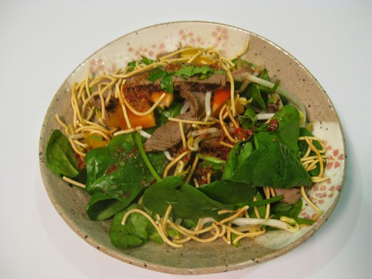 My Thermomix Kitchen - Blog for healthy low fat Weight Watchers friendly recipes for the Thermomix : Thai Beef Salad
