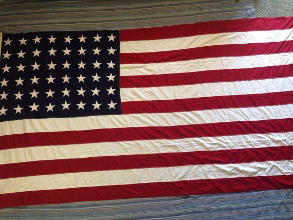 Original World War II 48 star flag USA 5X9 1/2 US by YourFlagBoy
