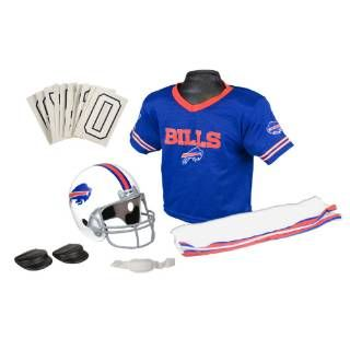 Check out the Franklin Sports 15701F15P1Z NFL Bills Medium Uniform Set