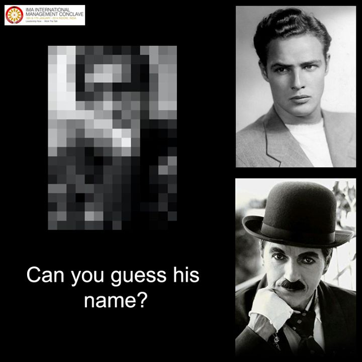 The one who will receive #IMA #LifetimeExcellenceAward in IMA's 23rd International Management Conclave 2014 has popularity transcended geographical boundaries. He was named #actor of the millennium in the BBC poll, ahead of luminaries such as #CharlieChaplin and #MarlonBrando. Can you guess his name now?