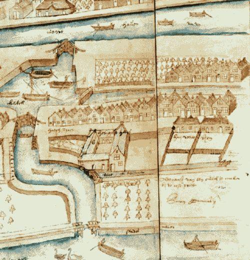 Rotterdam - Kaart / map    1577