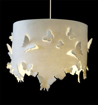 glowing Butterflys. This would look great in an outdoor gazebo.