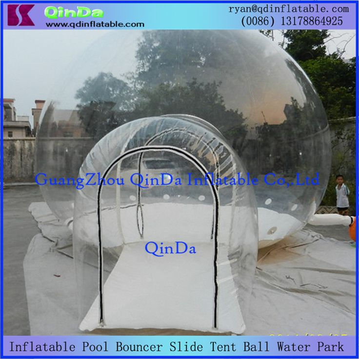 cool Hot outdoor inflatable clear bubble tent, inflatable camping tent transparent pvc tree tent