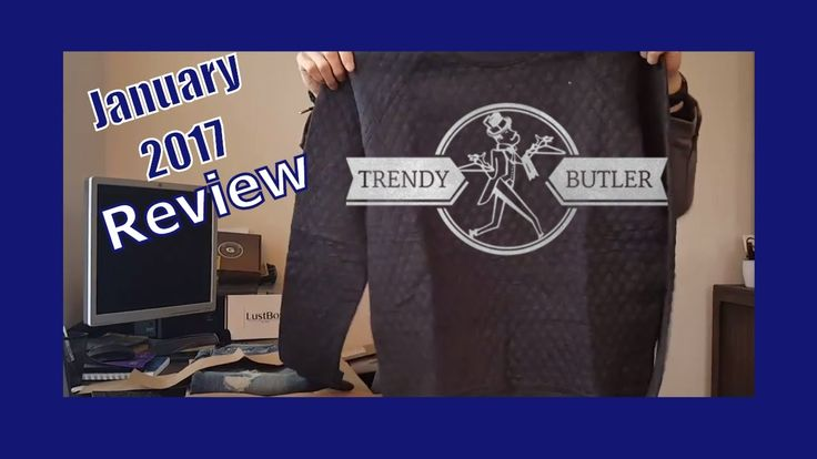 Trendy Butler Review - January 2017 Monthly Subscription box