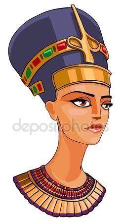 Baixar - Egípcia rainha nefertiti — Imagem de Stock #6233264