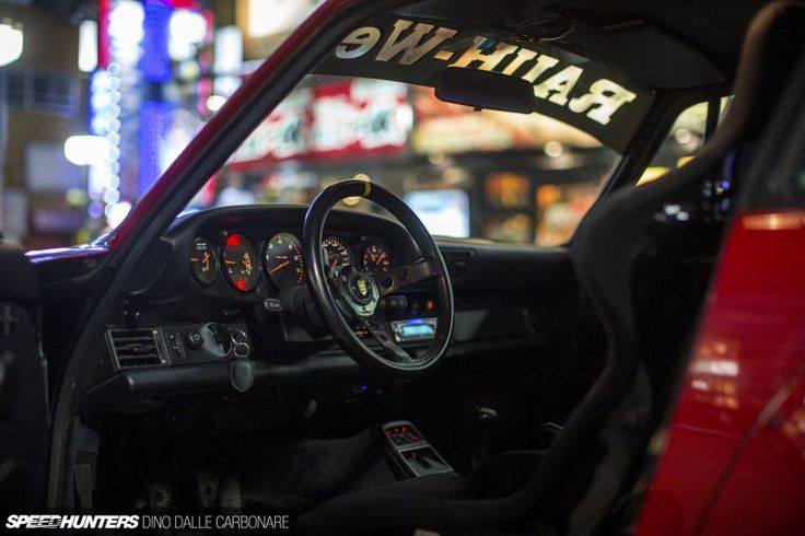 A Momo Steering Wheel Completes The Touches