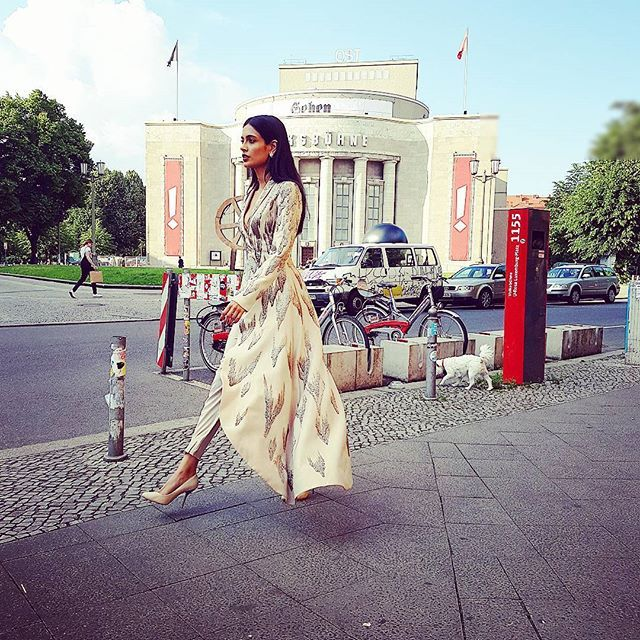 Strutting in #INTOTOs  👠💋  in #berlin  #fashiondiaries #fashion #thegoddessesgotoEurope #aig #eurotrip #premiere http://www.intoto.in/doll-up-61