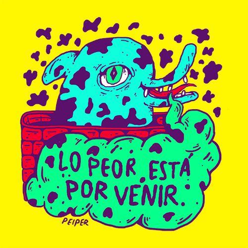 Ilustraciones de Pablo Orrego AKA PEIPER