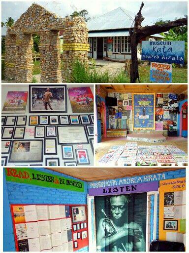 Museum Kata - Andrea Hirata #Belitung #Indonesia (photo by Imed)