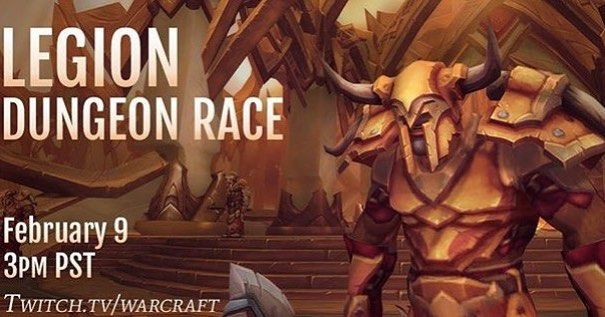 On this Tuesday a new #legion dungeon will be unveiled! Be sure to check it out on #twitch! #wow #warcraft #worldofwarcraft #follow #like #gaming #pc #instagram #instahub #blizzard #blizzard2016 #blizzardentertainment #pcgaming ##wowlegion #worldofwarcraftlegion #diablo #diablo3 #starcraft #starcraft2 #heroesofthestorm #overwatch by blizzard_go