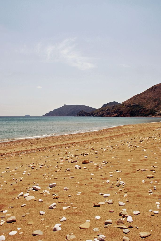 Komi beach in Chios island, Greece. - Selected by www.oiamansion.com