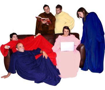 Hugz Deluxe die Decke mit Ärmeln   Geschenkidee.ch Geschenke-Shop