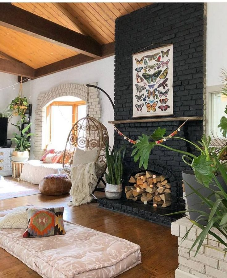 What's Hot on Pinterest: 7 Bohemian Interior Design Ideas – All around