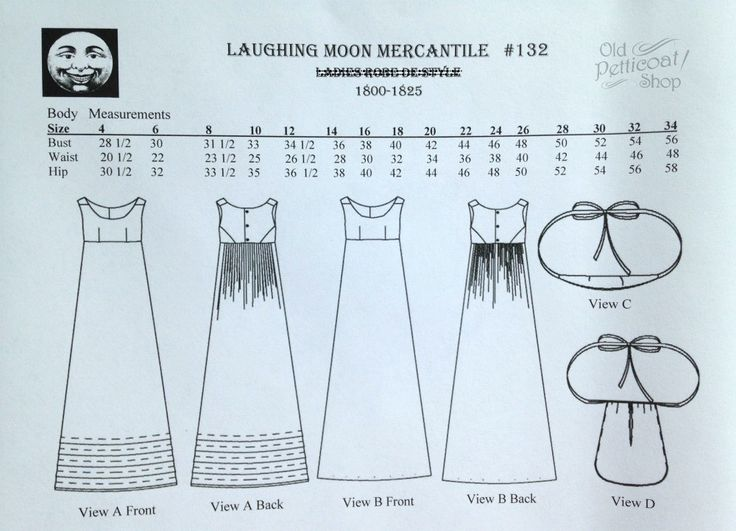 Laughing Moon #132 Ladies' Bodiced Petticoat, Bum Roll & Pocket Patter – Old Petticoat Shop