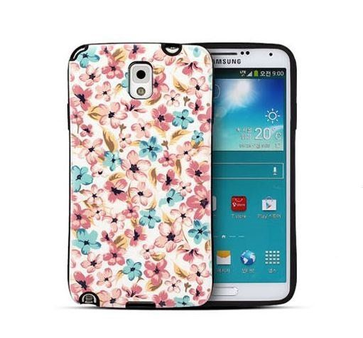 FLORAL IP FLOWER BUMPER GIRLY CASE FOR GALAXY A5